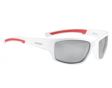 ALPINA KEEKOR Sportbrille white-red/varioflex black