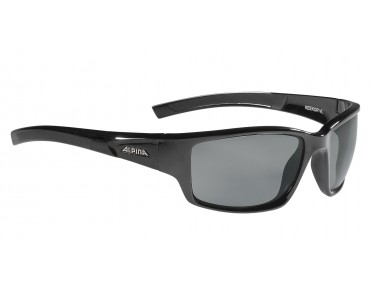 ALPINA KEEKOR sports glasses black/varioflex black