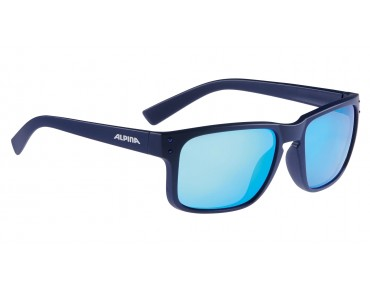 ALPINA KOSMIC Brille nightblue matt/blue mirror