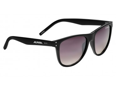 ALPINA RANOM glasses black matt/black gradient mirror