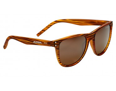ALPINA RANOM Brille havana matt/brown mirror