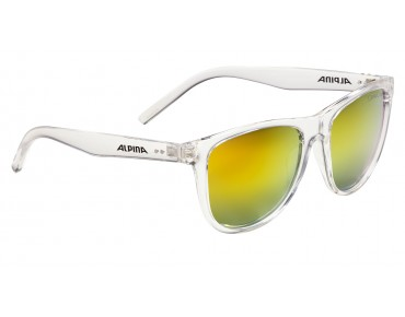 ALPINA RANOM glasses transparent/orange mirror