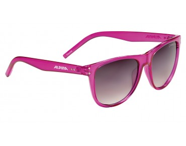 ALPINA RANOM glasses pink tranparent/black gardient mirror