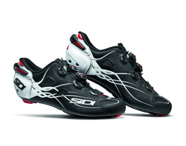 SIDI SHOT Rennradschuhe matt black/white