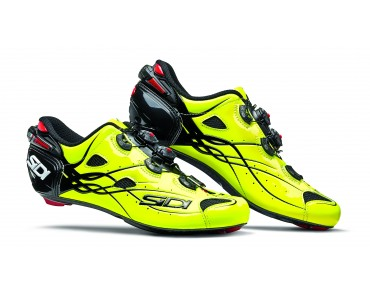 SIDI SHOT Rennradschuhe bright yellow