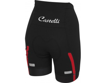 Castelli VELOCISSIMA SHORT women's bike shorts black/red