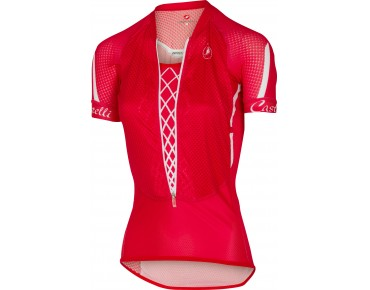 Castelli CLIMBER'S Damen Trikot red/white/black
