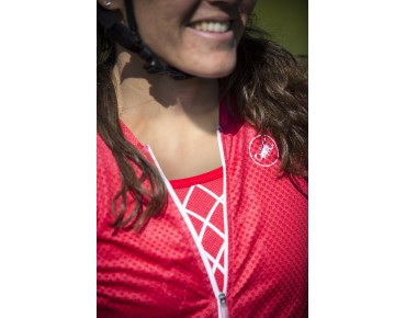 Castelli CLIMBER'S women's jersey red/white/black