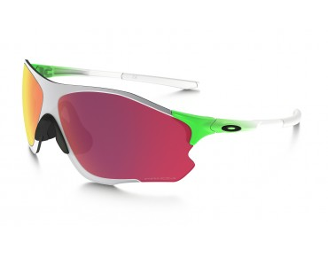 OAKLEY EVZERO PATH Sportbrille green fade w/PRIZM field/chrome iridium