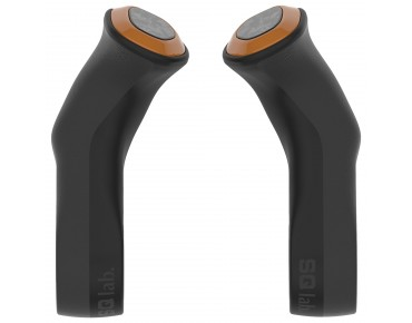 SQlab 411 Innerbarends bar ends for inner handlebar black/orange