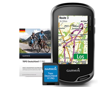 Garmin Oregon 700 navigation device incl. Topo Germany V7 Pro map