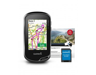 Garmin Oregon 700 navigation device incl. TransAlpin V4 Pro map