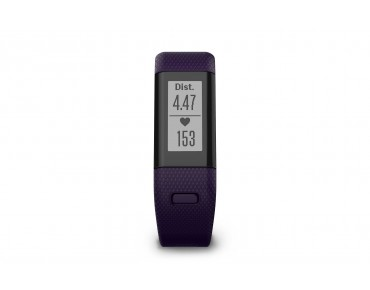 Garmin vivosmart HR+ activity tracker purple