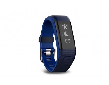 Garmin vivosmart HR+ activity tracker blue