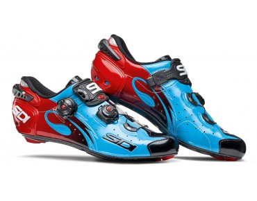 SIDI WIRE CARBON VERNICE Rennradschuhe blue/black/red