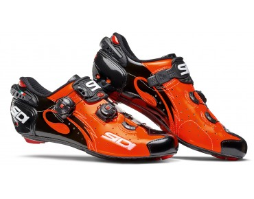 SIDI WIRE CARBON VERNICE Rennradschuhe orange/black