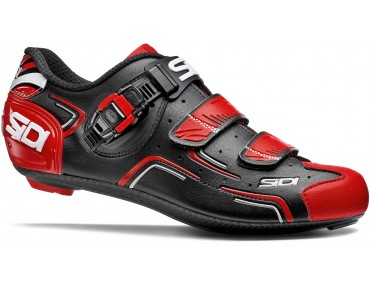 SIDI LEVEL Rennradschuhe black/red