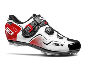 SIDI CAPE MTB shoes white/black/red