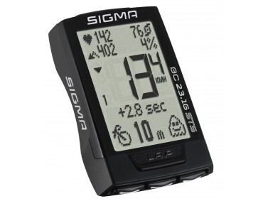 Sigma BC 23.16 STS bike computer – wireless – black