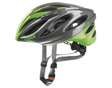 uvex boss race helmet grey/neon green