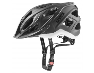 uvex CITY S Helm black/white matt