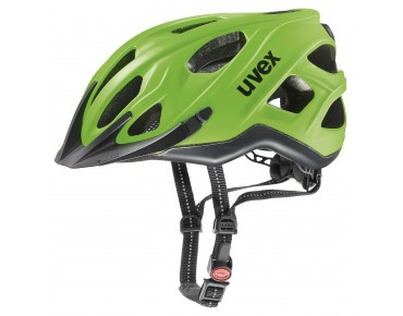 uvex CITY S Helm neon green/black matt