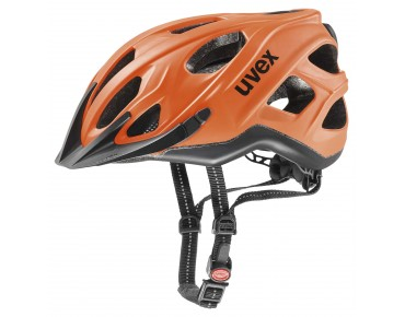 uvex CITY S Helm neon orange/black matt