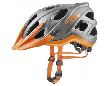 uvex STIVO CC fietshelm grey/neon orange