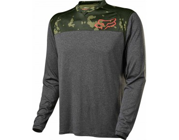 FOX INDICATOR PRINT long-sleeved cycling shirt fatigue camo
