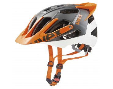 uvex quatro pro - casco white/orange mat