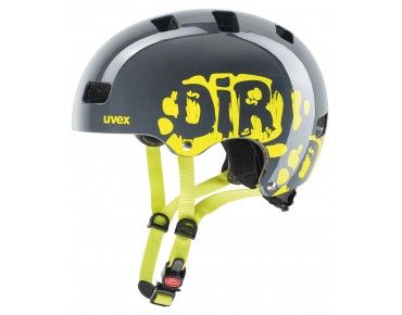 uvex KID 3 kids' helmet grey/lime