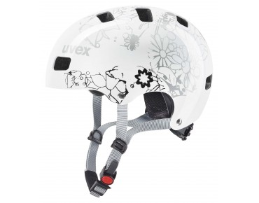 uvex KID 3 kids' helmet white flower
