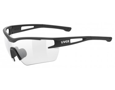 uvex SPORTSTYLE 116 V sports glasses black mat/variomatic smoke