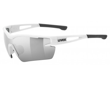 uvex SPORTSTYLE 116 sports glasses set white/lite mirror silver