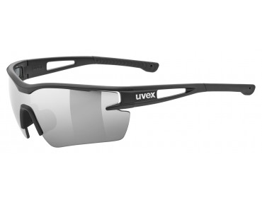 uvex SPORTSTYLE 116 sports glasses set black mat/litemirror silver