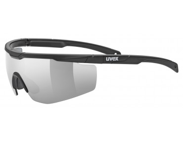 uvex SPORTSTYLE 117 sports glasses set black/litemirror silver
