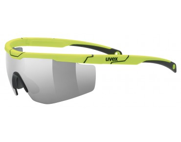 uvex SPORTSTYLE 117 sports glasses set yellow/litemirror silver