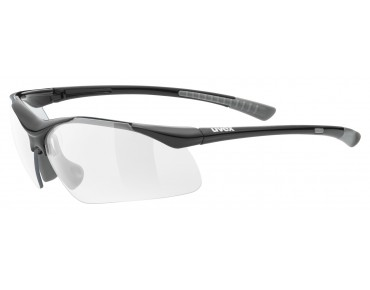 uvex SPORTSTYLE 223 sports glasses black-grey/clear