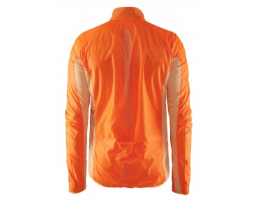 CRAFT FEATHERLIGHT Windjacke fluo orange/black