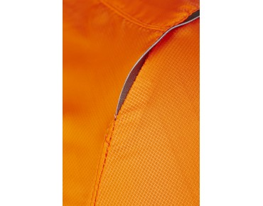 CRAFT FEATHERLIGHT windbreaker fluo orange/black