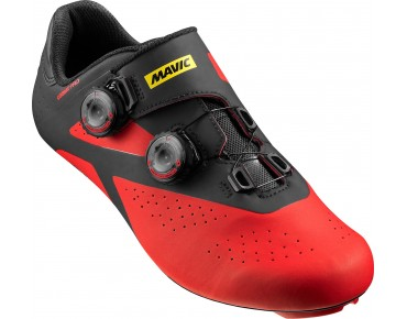 MAVIC COSMIC PRO Rennradschuhe black/fiery red/black