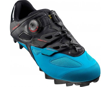 MAVIC CROSSMAX ELITE MTB shoes black/dresden blue/fiery red