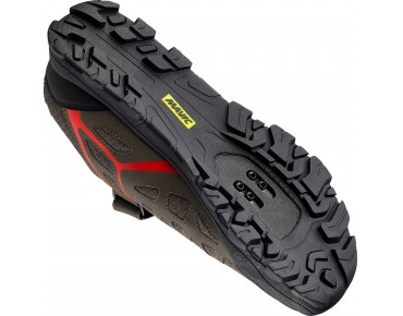 MAVIC CROSSRIDE MTB-/Trekkingschuhe canateen/fiery red/black