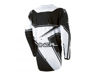 O´NEAL ELEMENT RACEWEAR long-sleeved cycling shirt white