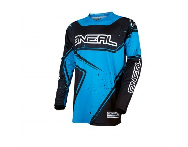 O´NEAL ELEMENT RACEWEAR long-sleeved cycling shirt blue