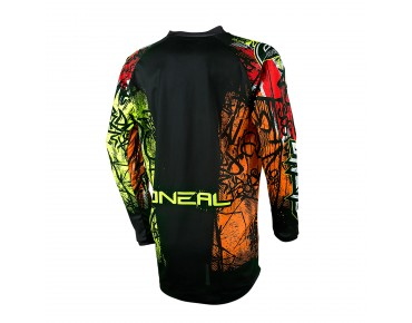 O´NEAL ELEMENT VANDAL long-sleeved cycling shirt neon