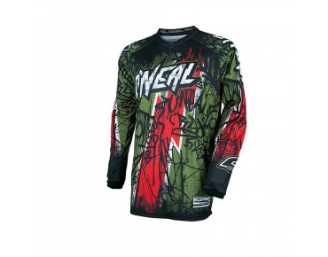 O´NEAL ELEMENT VANDAL long-sleeved cycling shirt green