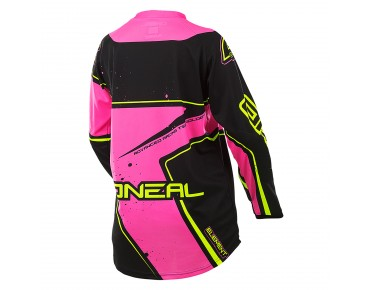 O´NEAL ELEMENT RACEWEAR women's cycling shirt with long sleeves pink