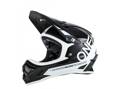 O´NEAL BACKFLIP RL II full visor - casco BUNGARRA black/white