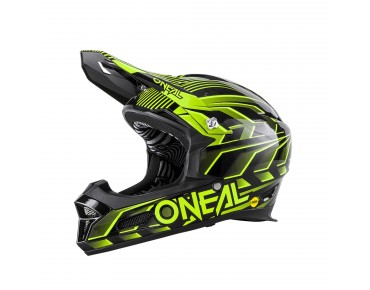 O´NEAL FURY MIPS full-face helmet black/yellow